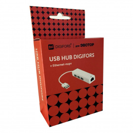 USB hub DIGIFORS + Ethernet-порт